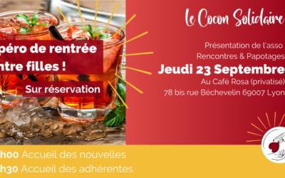 23/09/21 – Apéro de rentrée du Cocon Solidaire